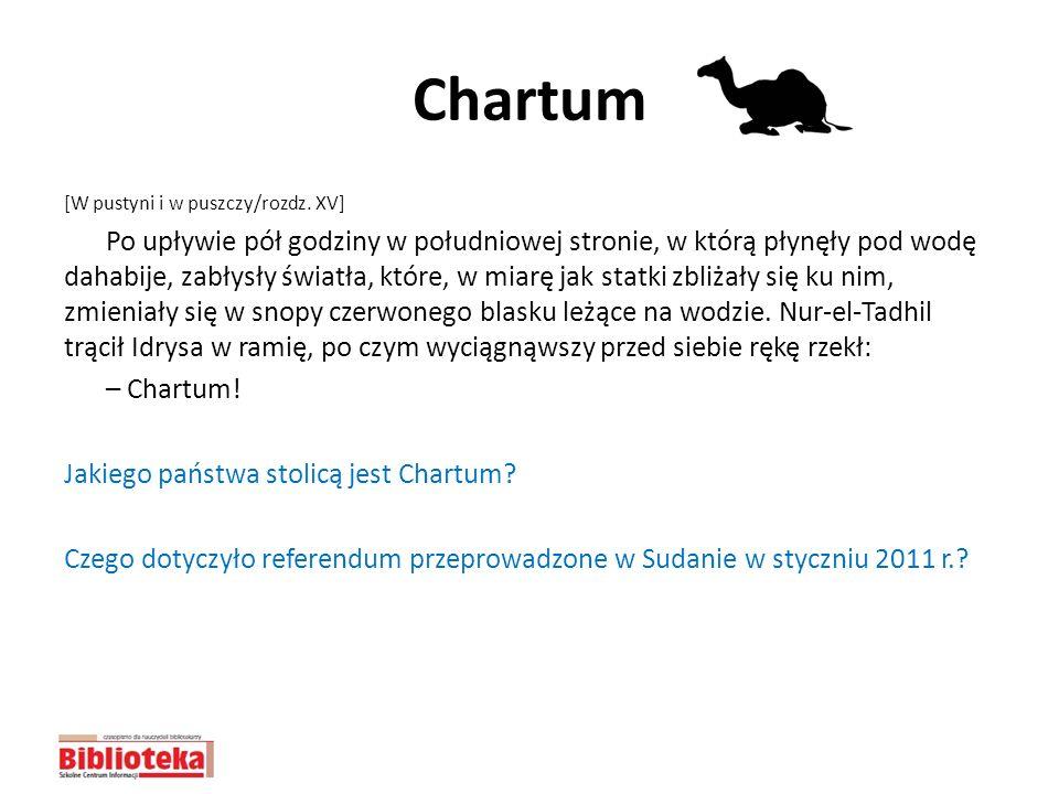 Chartum [W pustyni i w puszczy/rozdz. XV]